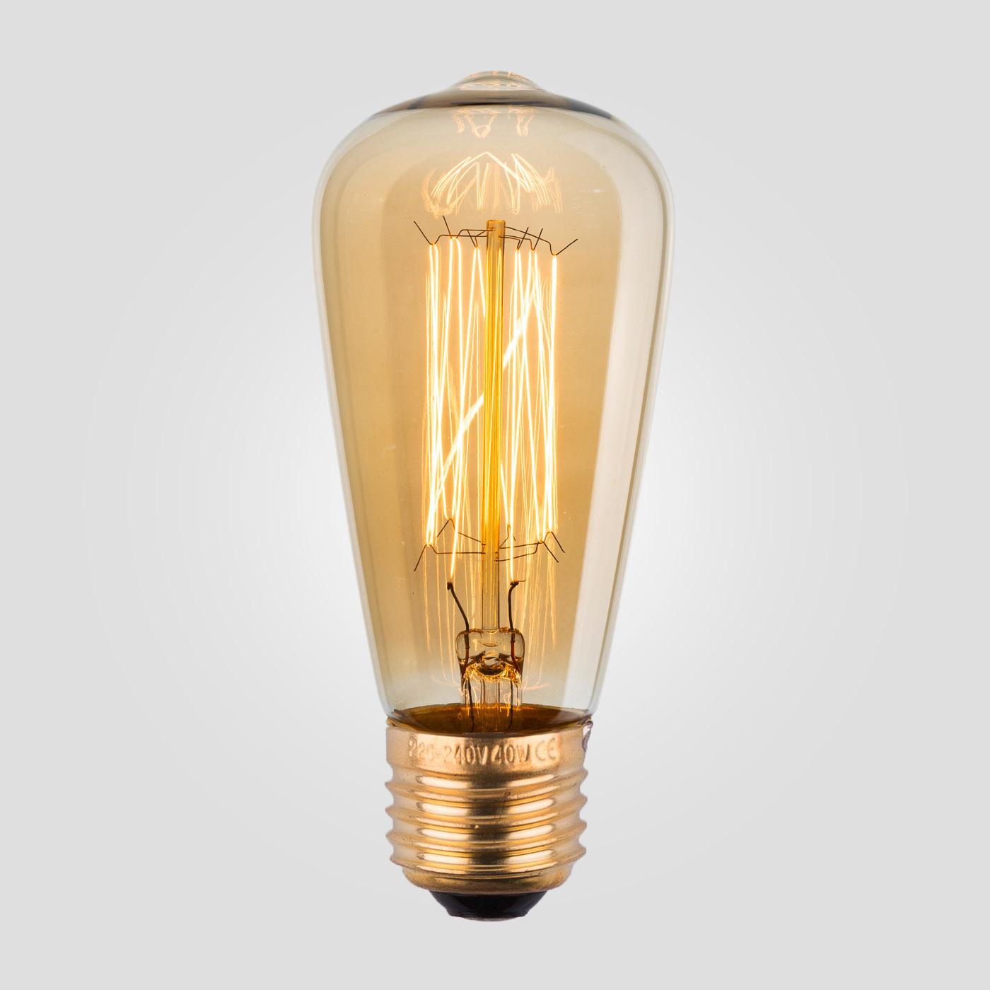 Лампа Эдисона ST48