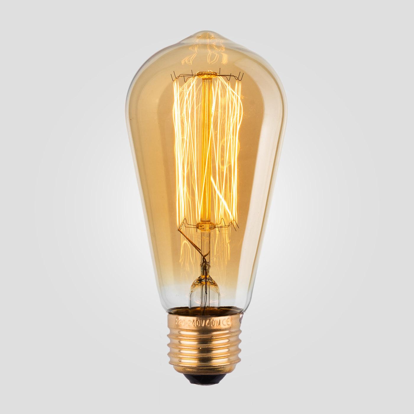 Лампа Эдисона ST58