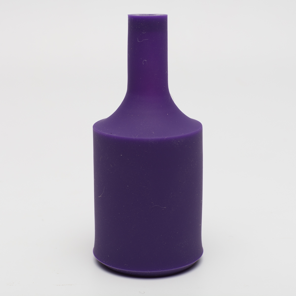 Патрон с силиконовой накладкой фиолетовый