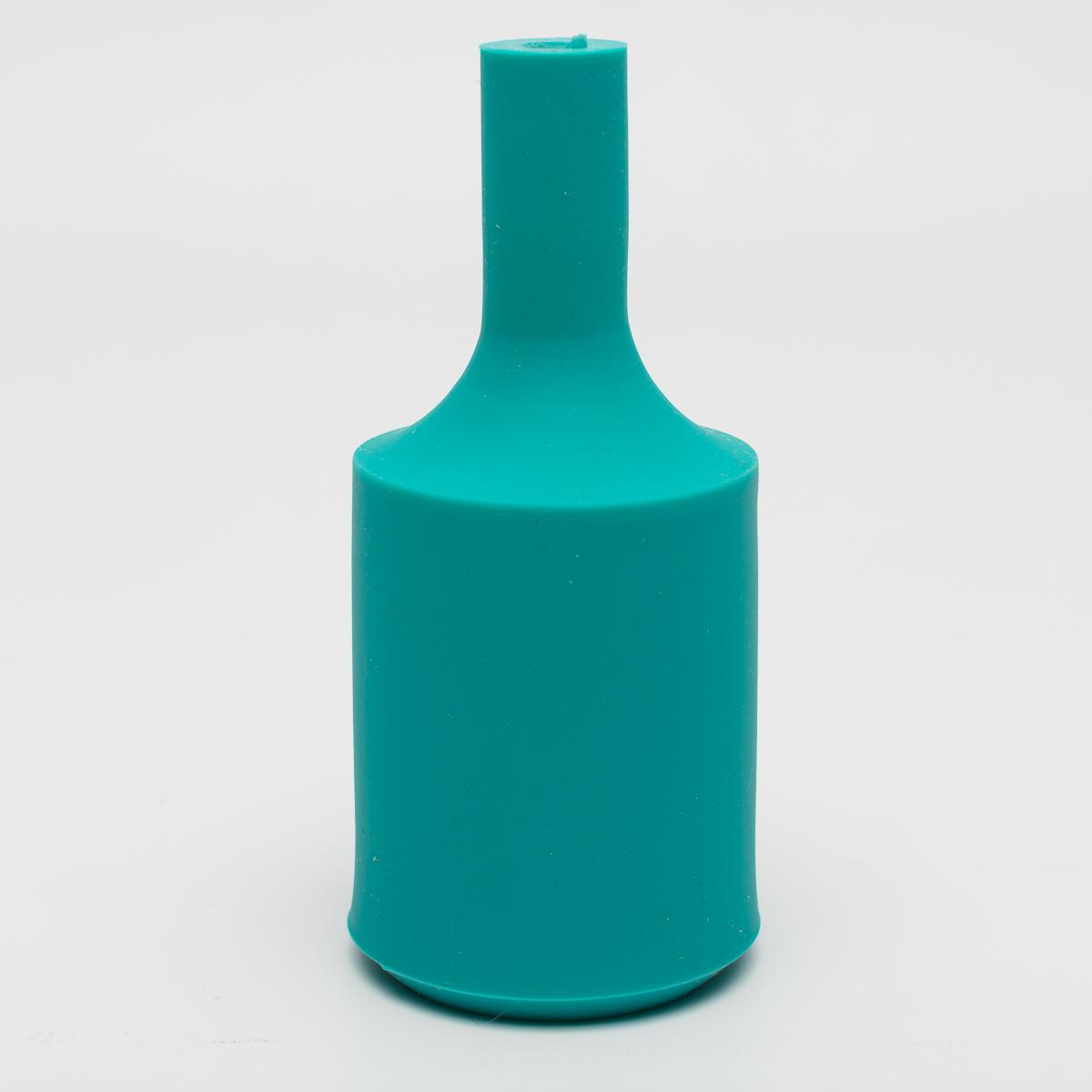 Патрон с силиконовой накладкой бирюзовый