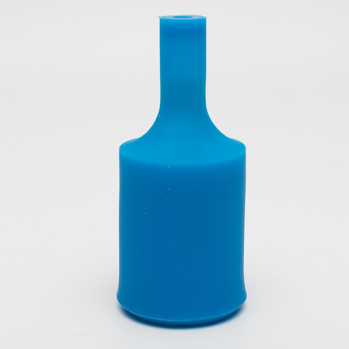Патрон с силиконовой накладкой синий