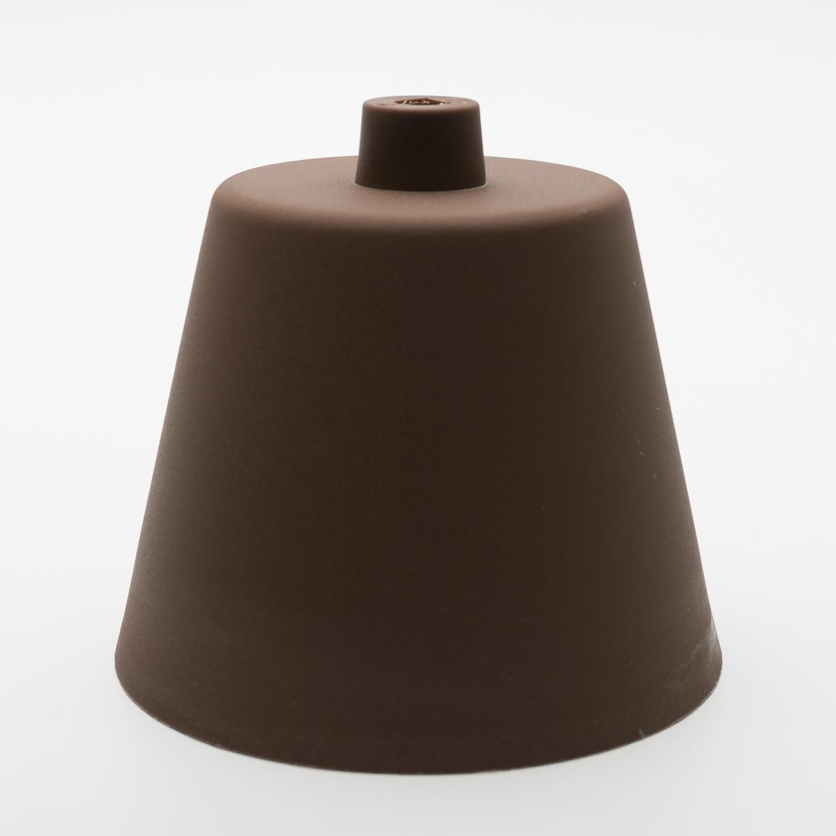 Потолочный крепеж пластиковый коричневый