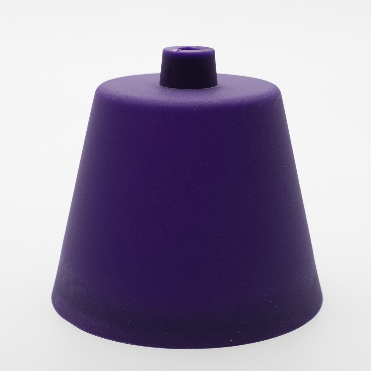 Потолочный крепеж пластиковый фиолетовый