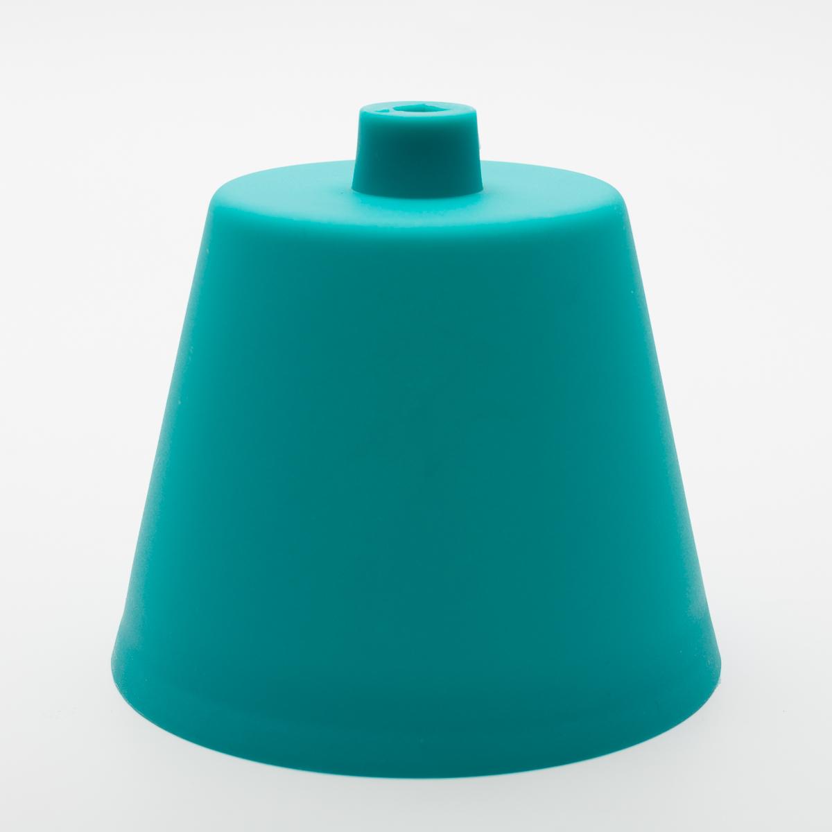 Потолочный крепеж пластиковый бирюзовый